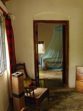 Kandy Cottage: Vue d'une des chambres