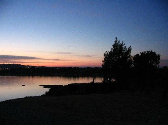 Camping La Nautique : Sunset