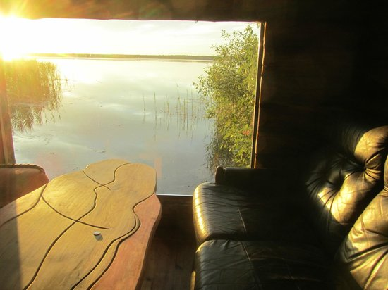 Hiie Farm: View from boathouse