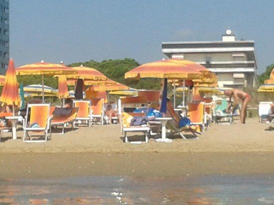 Park Hotel Bertha : Spiaggia hotel Bertha
