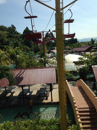 Bukit Merah Laketown Resort: Chair Lift