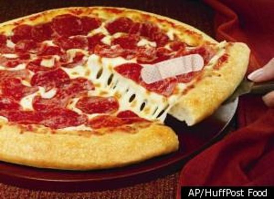 Pizza Hut : poorly made