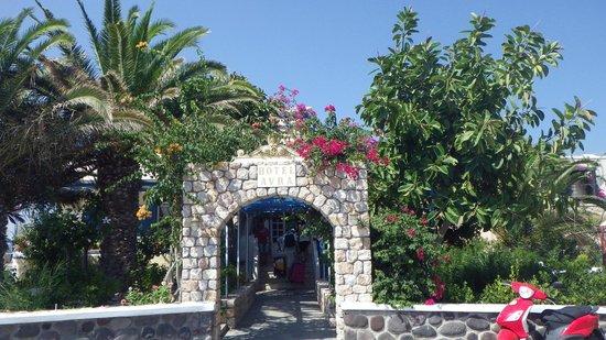 Avra Hotel: Eingang