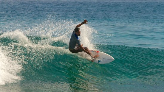 Cinnamon Dhonveli Maldives: another surfer