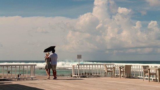 Cinnamon Dhonveli Maldives: no rain, just sun