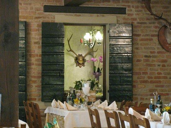 Nuovo Ranch: Detalhe da decoração