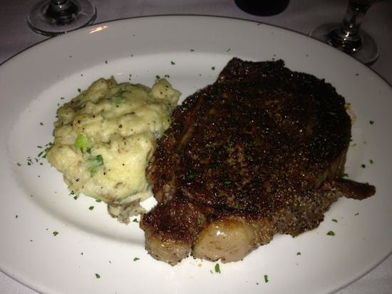 Del Frisco's Double Eagle: my mouth waters looking at this