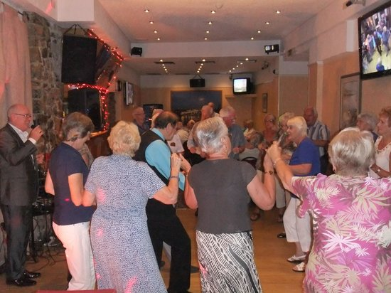 The Clarence House Hotel: Dance floor and entertainment