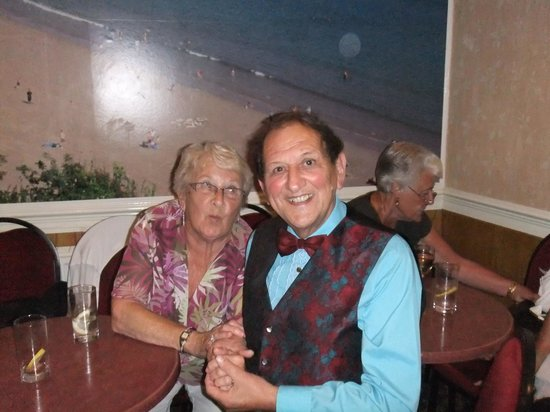 The Clarence House Hotel: Hubert and my friend Rene
