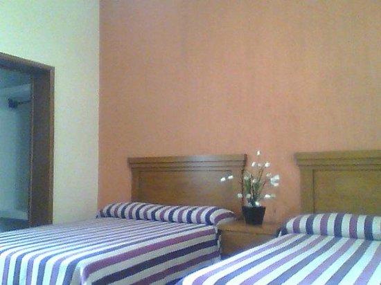 Posada Garibaldi: dos camas