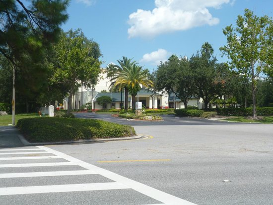 Hawthorn Suites by Wyndham Orlando Convention Center: view from i trolley stop