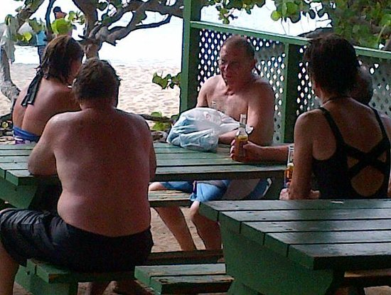 Poorman's Bar : Visiting the Baths, Virgin Gorda is a great way to add years to your life. When you do check Poo