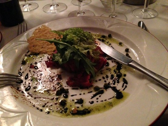 Haxted Mill: enjoyed my carpaccio