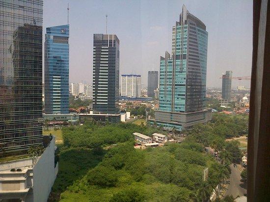 The Skyscrapers Of Mega Kuningan Picture Of Jw Marriott Hotel Jakarta Tripadvisor