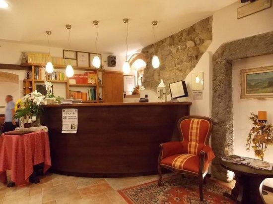 Albergo Antica Locanda: reception