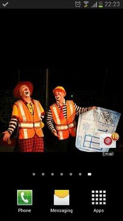 Shauns Cabin: send in the clowns