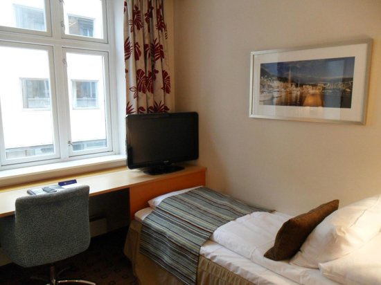 Scandic Byparken: The Room
