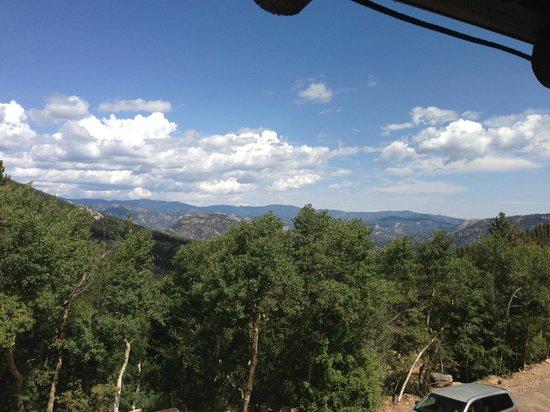 Baldpate Inn Restaurant: view from balcony