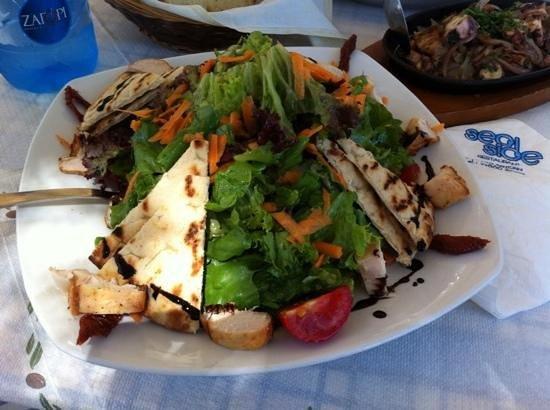Sea Side Restaurant: insalata di pollo
