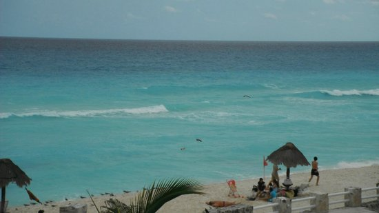 Solymar Cancun Beach Resort: Praia