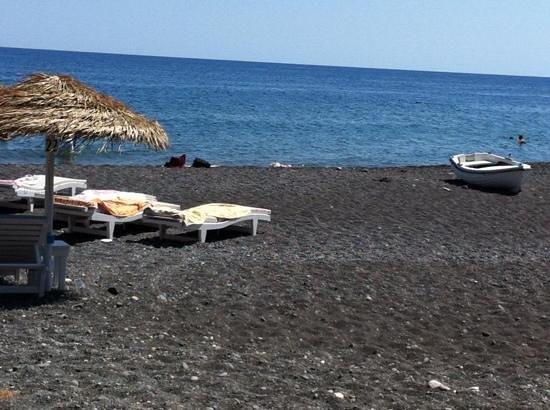Sea Side Restaurant: spiaggia