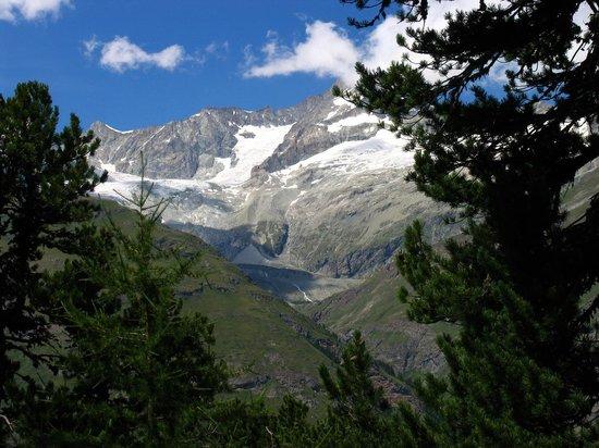 Gornergrat: A snapshot taken during the trail