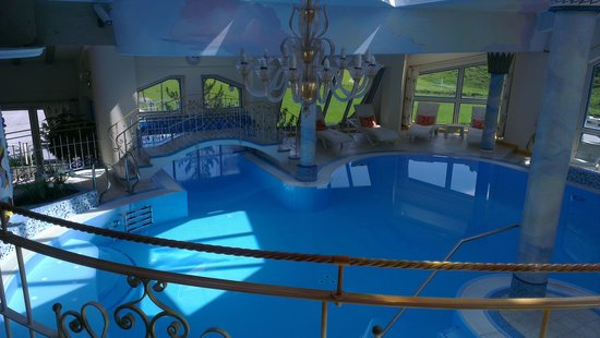 Hotel Gletscher & Spa Neuhintertux: Pool im Spa...