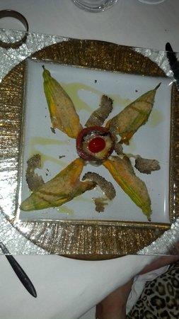 Palazzo Brandano: Stuffed Zucchini Flower