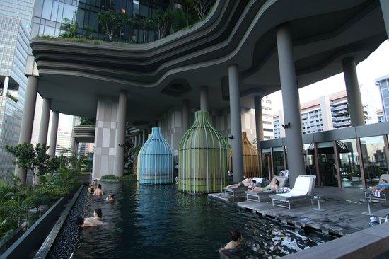 Pool Picture Of Parkroyal On Pickering Singapore Tripadvisor
