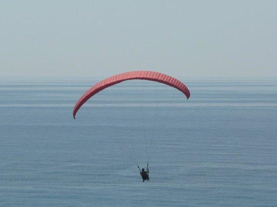 Hotel Sirios Kathisma: Paraglinding tandem flights from Syrios hotel