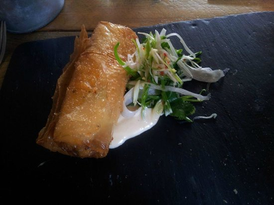 The Richmond Arms: Crab Spring Roll