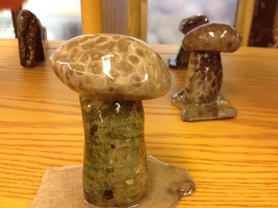 Petoskey KOA : Petoskey Stone Creations at the Camp Store