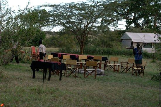 Mara Eden Safari Camp: dining erea