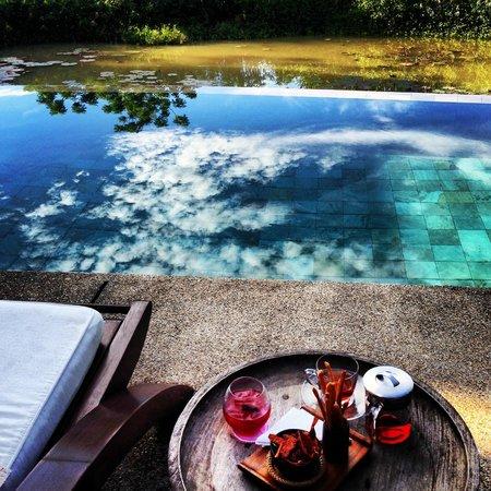 Belmond La Residence Phou Vao: Spa swimming pool