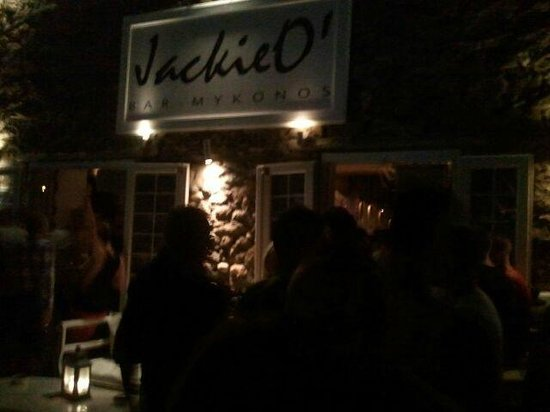 Jackie O' Bar Mykonos: ingresso