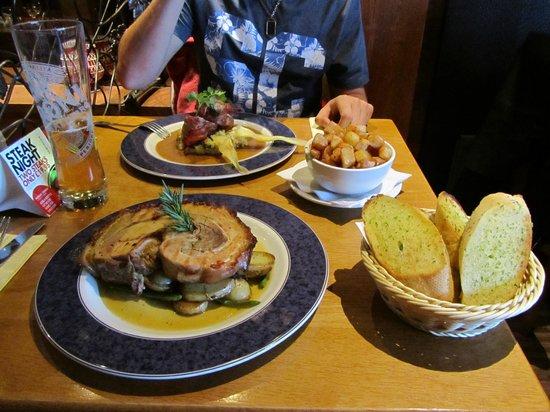 Brooklyn SQ: Ample portions.