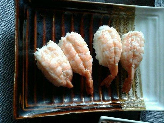 Fuji: con gamberoni cotti
