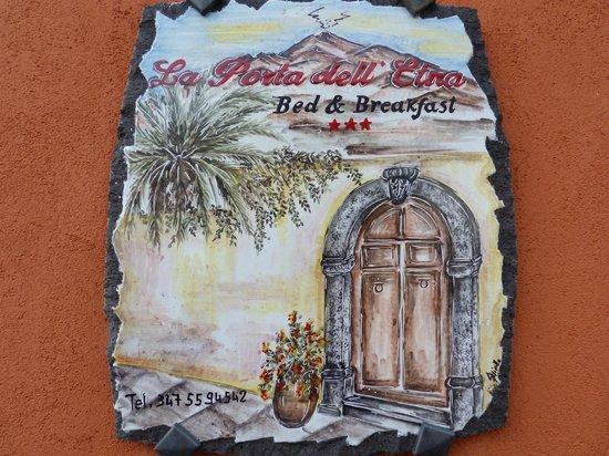 La Porta dell'Etna: Bienvenue au B&B