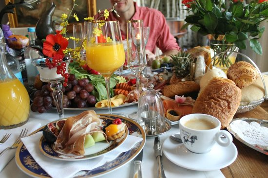 Breitner House: the best breakfast