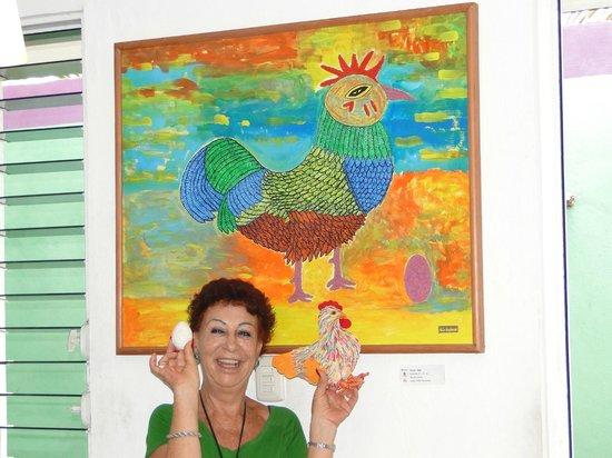 Azafran Restaurant: Mexican arte