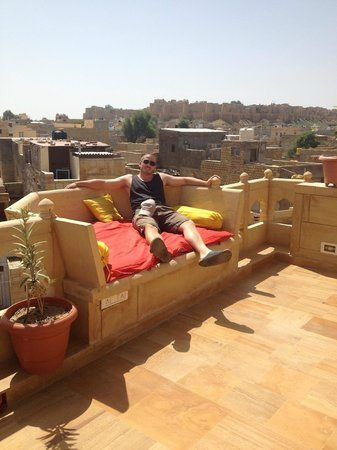 Hotel Pleasant Haveli: Amazing roof terrace