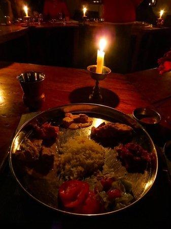 Ladakh Sarai: Dinner plate