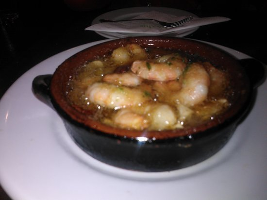 Restaurante Bar Andaluz : Shrimps with oil and garlic