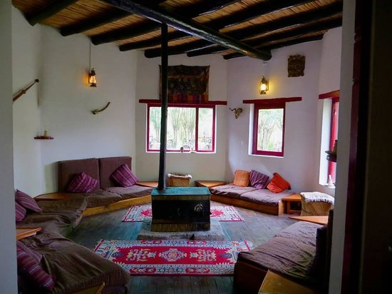 Ladakh Sarai: Sitting room