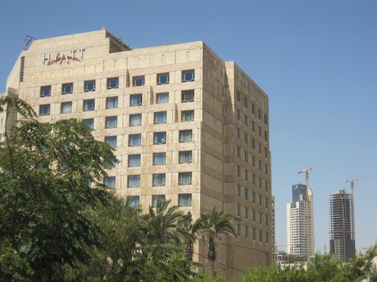 Grand Hyatt Amman: Vista general del hotel