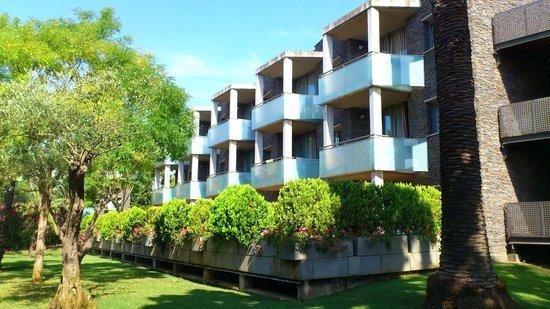 Aparthotel Ciutat de Palol: les balcons