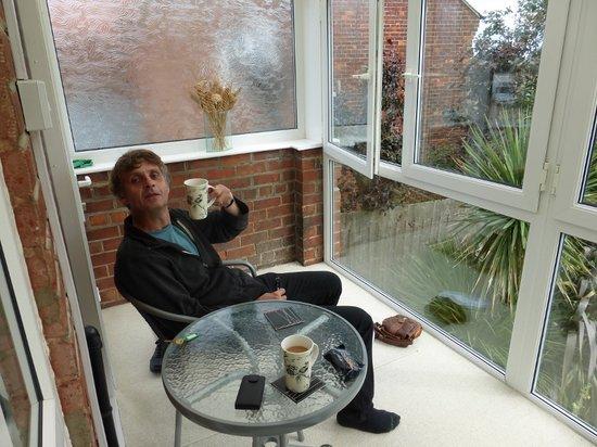 Fern Lodge: our own little sun room