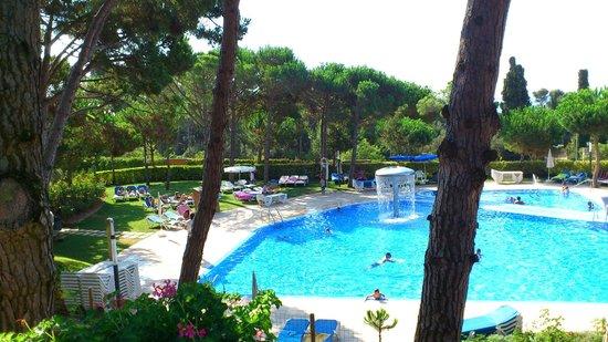 Aparthotel Ciutat de Palol: les piscines