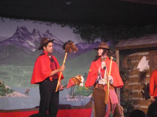 Oh Canada Eh? Dinner Theatre: the show