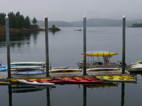 Southeast Exposure Outdoor Adventure Center: View of boat dock and inlet